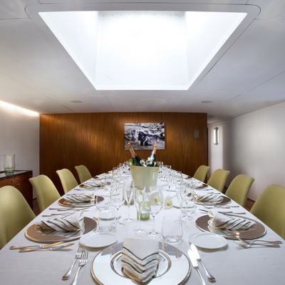 Dionea Yacht Dining Salon - Table View