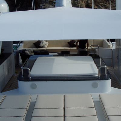Milk and Honey Yacht Jacuzzi & Loungers