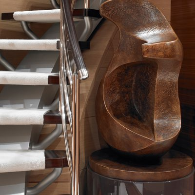 Kathleen Anne Yacht Stairs - Detail