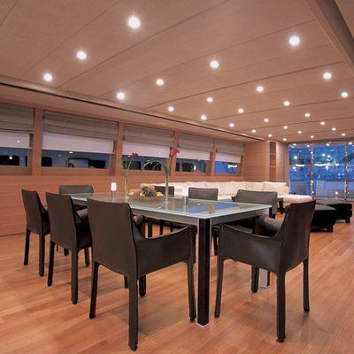 Sheleila Yacht Dining