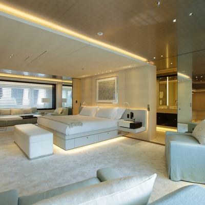 Nautilus Yacht The Arrangement Of The Master Suite