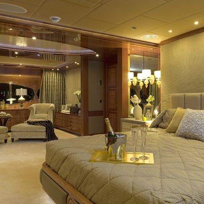 Lady Sheridan Yacht Master Stateroom