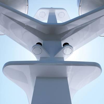 Zaliv III Yacht Mast