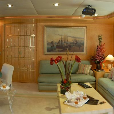 Bella Stella Yacht Salon - Side View