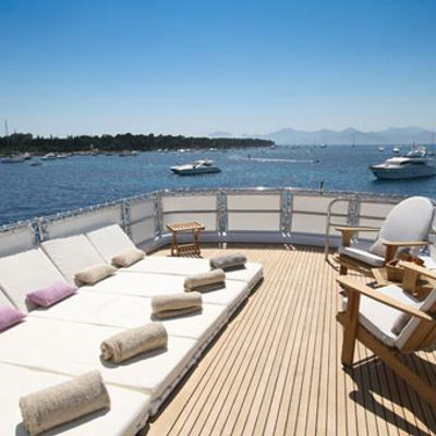 Sea Lady II Yacht Sun Loungers