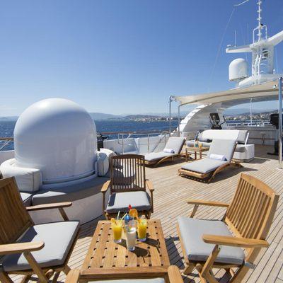 Azul V Yacht Sundeck