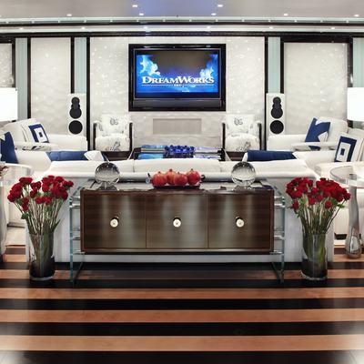 Alfa Nero Yacht Main Salon