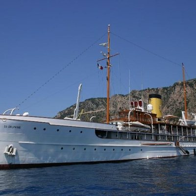 SS Delphine Yacht Side Profile