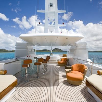 Perle Bleue Yacht Sundeck