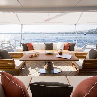 Revelry Yacht Main Deck Aft