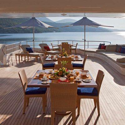 Mary-Jean II Yacht Sundeck