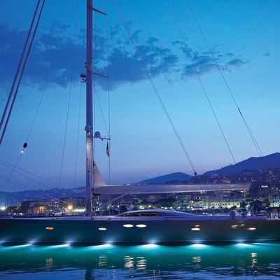 A Sulana Yacht Underwater Lights