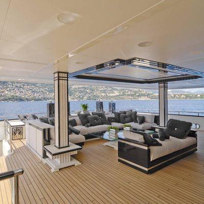 Silver Angel Yacht Bridge Aft Seating