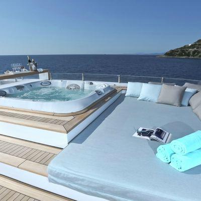 Ipanemas Yacht Sundeck Jacuzzi