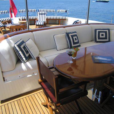 Fiorente Yacht Top deck