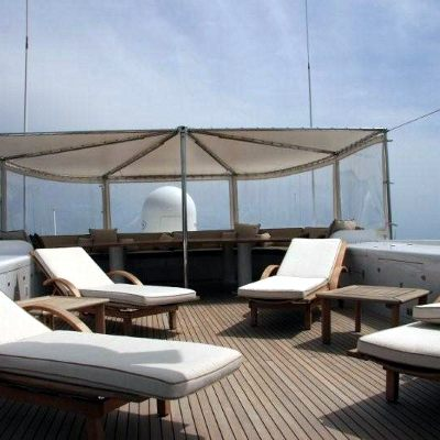 Superfun Yacht Sundeck Loungers