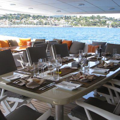 Costa Magna Yacht Upper Deck Dining