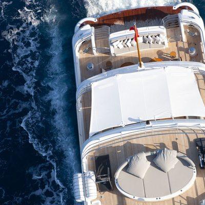 Spirit Yacht Aerial View