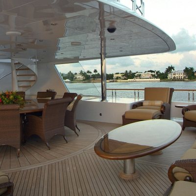 Aquasition Yacht Skylounge aft deck