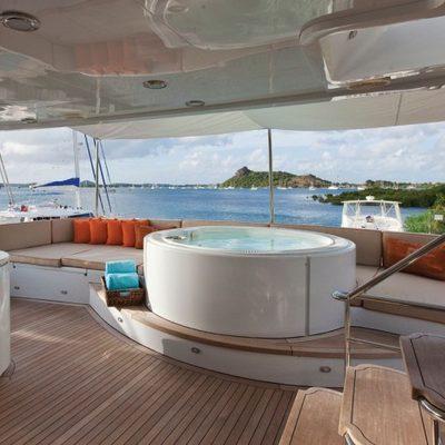 Chosen One Yacht Jacuzzi