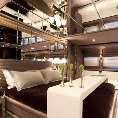 Bliss Yacht Master Stateroom - Detail