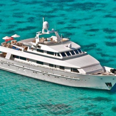 Lionshare Yacht Aerial View