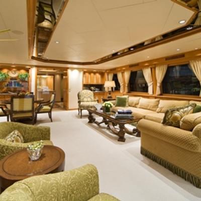 Sojourn Yacht Main Salon
