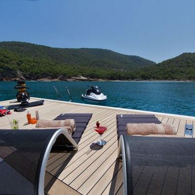 Mabrouk Yacht Swimming platform