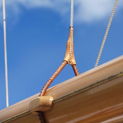 Atlantic Yacht Detail - Rigging