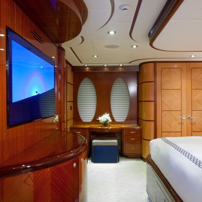 Just Enough Yacht Master Stateroom to Port