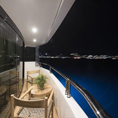 Liquid Sky Yacht Balcony