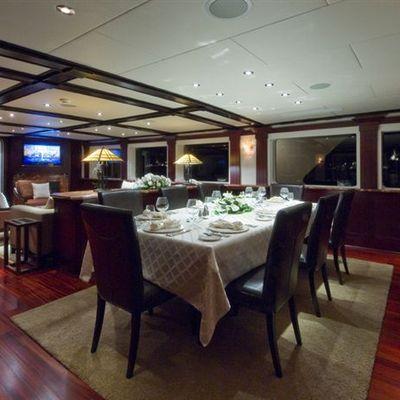 L'Albatros Yacht Dining Area