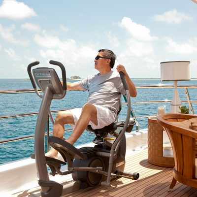 April Yacht Exercise equipment