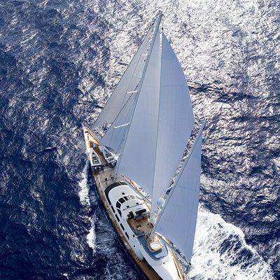 Antara Yacht Overhead View