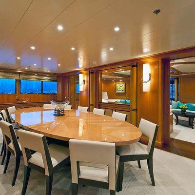 Olmida Yacht Formal Dining Room
