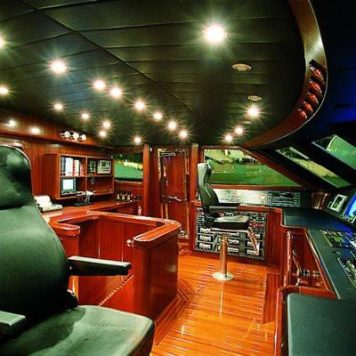 Sophie Blue Yacht Pilothouse