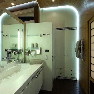 Espresso Yacht Master Bathroom