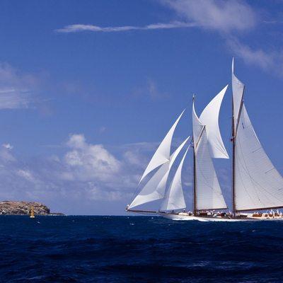 Elena Yacht Full Sail