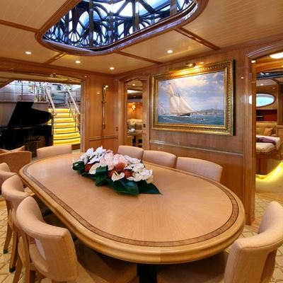 Marie Yacht Formal Dining