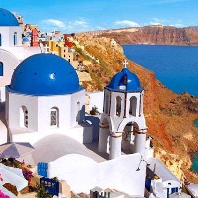 Paros to Ios & Santorini