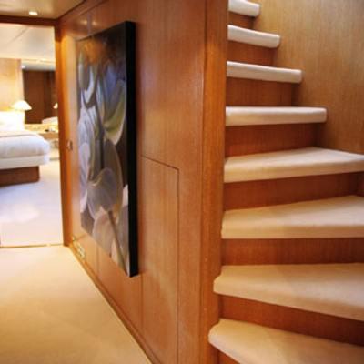 Sea Lady II Yacht Staircase