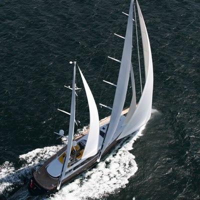 Q Yacht Aerial View