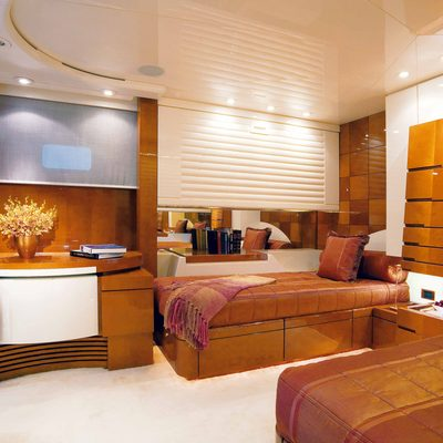Bad Girl Yacht Twin Cabin