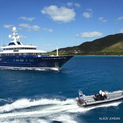 Bella Vita Yacht Profile with Tender
