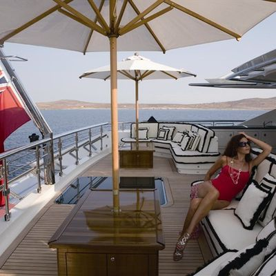 Alfa Nero Yacht Exterior Seating