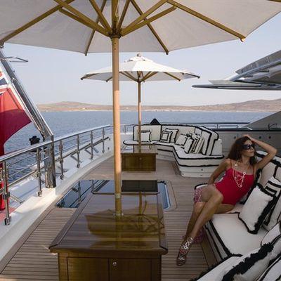 Alfa Nero Yacht Exterior Seating