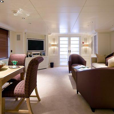 Va Bene Yacht Upper Lounge