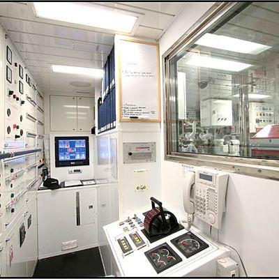 Parsifal III Yacht Control Room