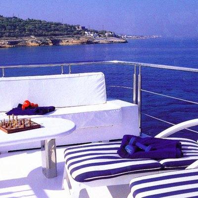 Carmen Serena Yacht Sundeck LOungers