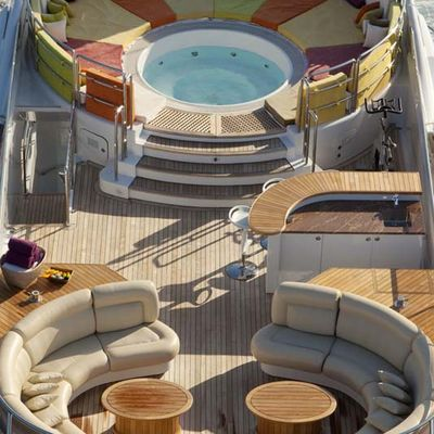 Daloli Yacht Aerial View - Jacuzzi & Seating